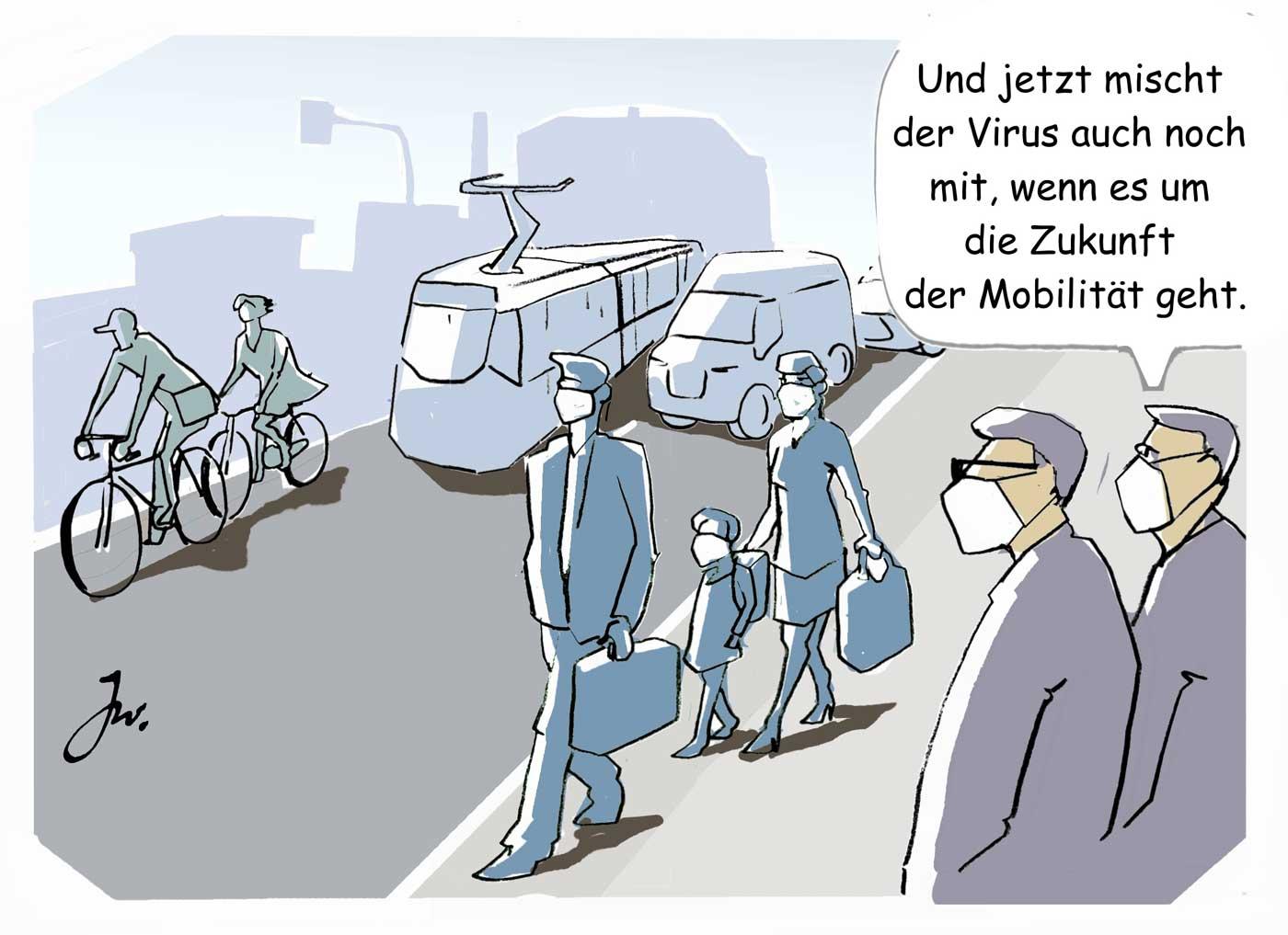 Mobilität Corona